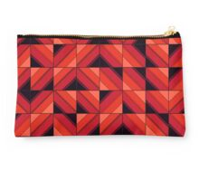 Fake wood abstract Studio Pouch