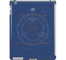 United We Strike Against the Darkness iPad Case/Skin