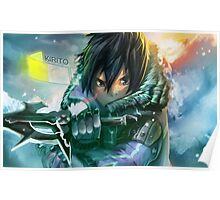 Sword Art Online - Kirito the Warrior Poster