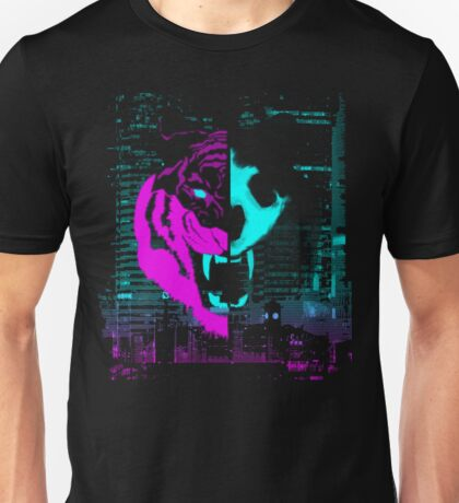 Night Tiger Unisex T-Shirt