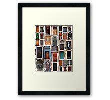 Europe Doors - HDR Framed Print