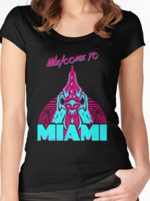 Welcome to Miami - I - Richard Women's Fitted Scoop T-Shirt