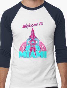 Welcome to Miami - I - Richard Men's Baseball ¾ T-Shirt