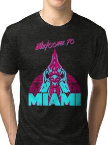 Welcome to Miami - I - Richard Tri-blend T-Shirt