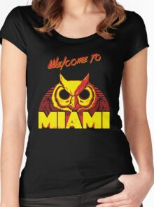Welcome to Miami - III - Rasmus Women's Fitted Scoop T-Shirt