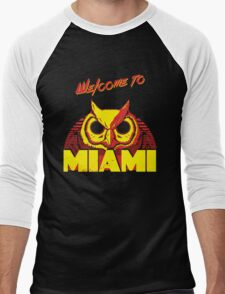 Welcome to Miami - III - Rasmus Men's Baseball ¾ T-Shirt