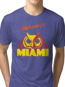 Welcome to Miami - III - Rasmus Tri-blend T-Shirt