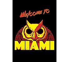 Welcome to Miami - III - Rasmus Photographic Print