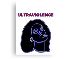 Ultraviolence Canvas Print