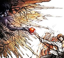 Death Note - Ryuk and Akira by ghoststorm