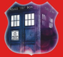 Public Police Box - Dr Who Kids Clothes