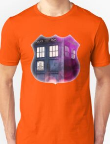 Public Police Box - Dr Who Unisex T-Shirt