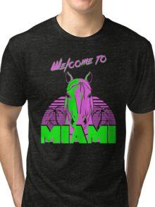 Welcome to Miami - II - Don Juan Tri-blend T-Shirt