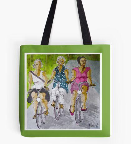 fietsvriendinnen Tote Bag