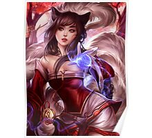 League of Legends - Ahri the Witch Poster
