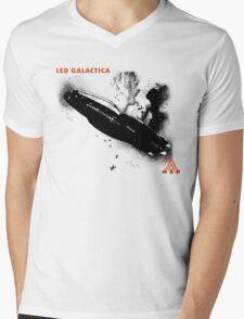 Led Galactica Mens V-Neck T-Shirt