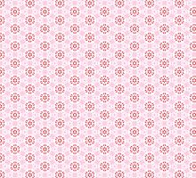 Pink Flower Pattern by Eunoia