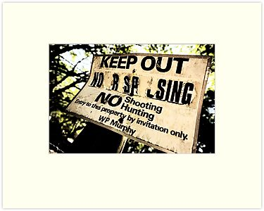 Keep Out by Susan Gottberg