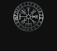 Vegvísir - brushed metal Unisex T-Shirt