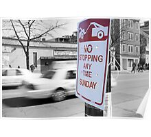 No Stopping Poster