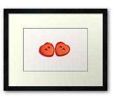 Heart to Heart Framed Print