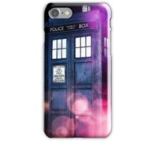 Public Police Box - Dr Who iPhone Case/Skin