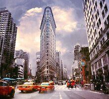The Flatiron Building by John Rivera