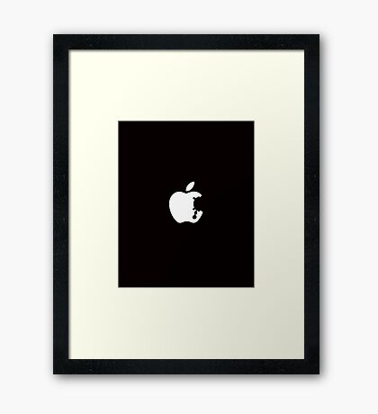 Dalek Apple Framed Print