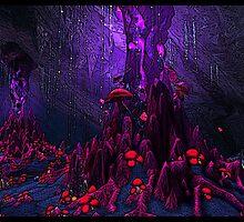 The Mushrooms of Deepholm by Mndane-Amzmnt