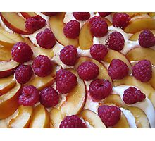 Fruit Pudding Photographic Print