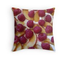 Fruit Pudding Throw Pillow