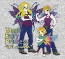 tough fairy princess Baby Tee