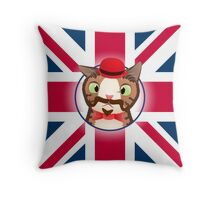 Monty Gotchy - London 2 Throw Pillow