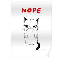 Cat nope Poster