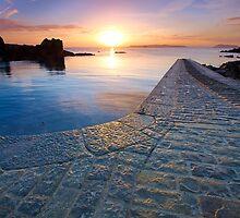 Bordeaux slipway sunrise by PhotoToasty