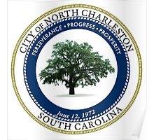 Seal of North Charleston  Poster
