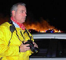 Fire Photographer by garytx