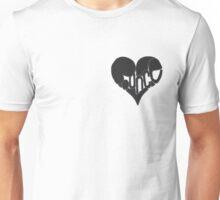 Bounce heart black Unisex T-Shirt