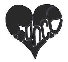 Bounce heart black Photographic Print
