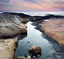 Black Point Reflection by Andrew Stockwell