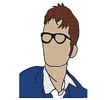 Tenth Doctor: Quotes Photographic Print