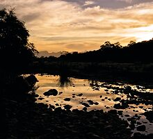 Olifants River Sunset by Ludwig Wagner
