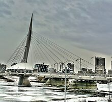 Esplanade Riel Bridge by John Fletcher