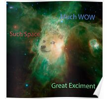 Doge Space Poster