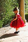 Little Girl In Red II by Evita