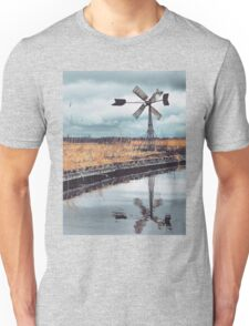 Windmill in the middle of nowhere Unisex T-Shirt
