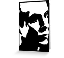 Brian Eno T-Shirt Greeting Card