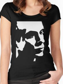 Brian Eno T-Shirt Women's Fitted Scoop T-Shirt