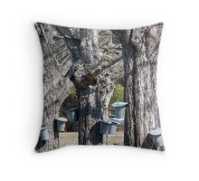 Maple Syrup Time Throw Pillow