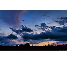 a memorable sunset Photographic Print